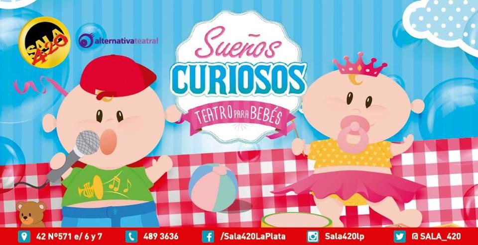 Sueños Curiosos - Teatro para Bebés