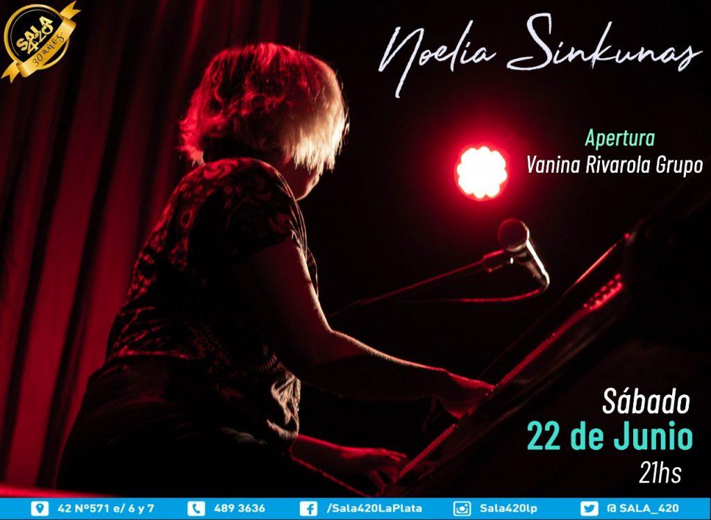 Noelia Sinkunas y Vanina Rivarola Grupo en concierto