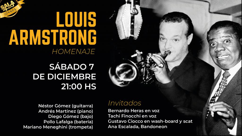 Homenaje a Louis Armstrong